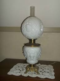 Antique Oil Lamps Ebay by Antique Gone With The Wind Lamps Lighting And Ceiling Fans