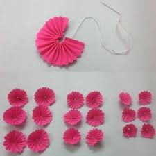 How To Make Paper Craft Work Step By New Diy Wall Hanging Home Decoration Using Flowers