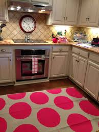 pink and cirlce polkadot image ofhen area rugs for hardwood