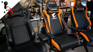 100 Gaming Chairs For S Ome Thoughts On The Cougar Armor And Gigabyte AGC300