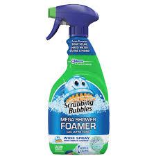 Drano Not Working Bathtub by Scrubbing Bubbles Mega Shower Foamer Bathroom 20 Oz
