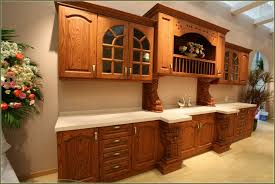 Pickled Oak Cabinets Glazed by Pickled Oak Cabinets Wall Color Home Design Ideas