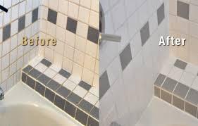 seattle bathroom grout restoration