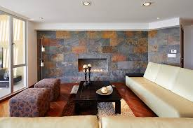Fashionable Flooring Choice But It Is Also Becoming A Favorite For Covering Walls The Variations In Slate Tile Can Add Elegance To Living Room