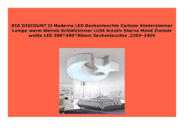 best buy jj moderne led deckenleuchte kinderzimmer