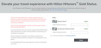 Hilton Hhonors Diamond Desk Uk by What Are Hilton Honors Gold Benefits And How Do You Earn Them