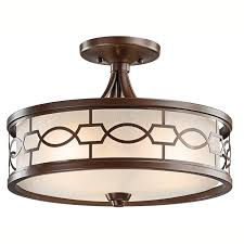 Home Depot Ceiling Light Covers by Decorating Luxury Flush Mount Ceiling Light For Modern Home