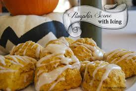 Starbucks Pumpkin Spice Scone Recipe by Pumpkin Scones With Icing