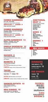 100 Food Trucks Tulsa Online Menu Of Alpha Grill BBQ Truck Restaurant