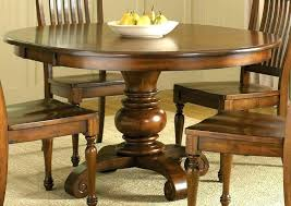 Solid Wood Round Table Dining With Leaf Large Size Of Room Pedestal Storage