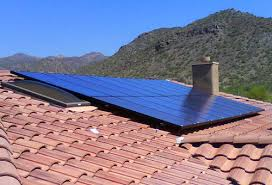 solar installation shingle powered