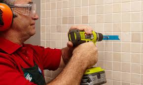 how to drill into tiles bunnings warehouse