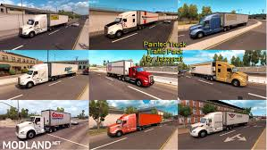 Painted Truck And Trailers Traffic Pack By Jazzycat V 1.1 Mod For ... Improved Truck Physics 21 American Truck Simulator Mods Triple Diamond And Trailer Repair Paradise Sioux Falls North And Trucks Accsories Modification Image Gallery Scs Softwares Blog Trailers Custom Leasing Diff Lock Lift Axle Test 16 Ertl 3605 Texaco Tanker Serial 3069 Runaway Hobby Dark Blue Semi With Storage Container Stock Photo Illustration I5487380 At Featurepics