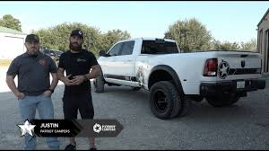 Patriot Campers - USA RAM 3500 Dually Build - YouTube