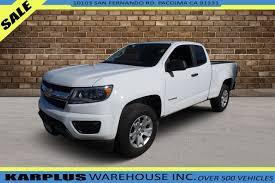 100 Used Work Trucks For Sale By Owner 2018 Chevrolet Colorado 2WD Truck 1GCHSBEAXJ1174339 KARPLUS