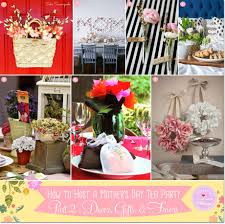 Decorating Ideas For A Tea Party Mom