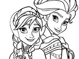 Elsa Coloring Pages Free Printable