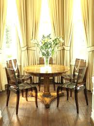 Dining Room Windows Curtains For Bay Curtain Contemporary With Neutral