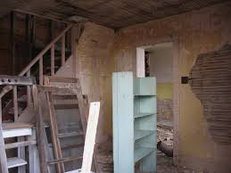 Old Interior Of Life Size Dollhouse Created From An Abandoned Farmhouse