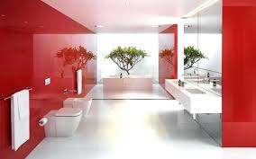Bright Red Bathroom Rugs by Red Bathroom Perfect 15 Stunningly Designs Home Design Lover