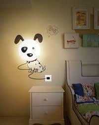 appliques chambre bébé decoration luminaire chambre enfant applique murale chien