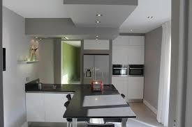 eclairage cuisine plafond faux plafond cuisine ouverte mineral bio