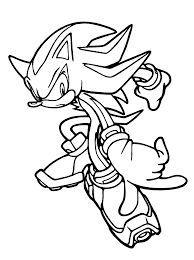 Silver The Hedgehog Coloring Pages Free Coloring Pages