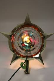 New Rotating Color Wheel For Christmas Tree by These Are Fun Not Really Tacky Vintage Bradford Celestial Star