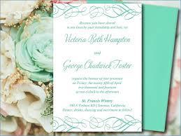 Sample Wedding Invitation Template nmelks