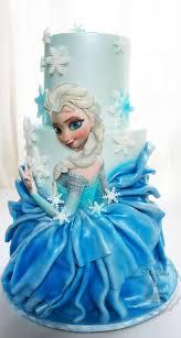 Frozen Elsa cake by Tita Cakes