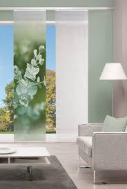 schiebegardine igitaldruck bambus optik eucalia 260 x 60 cm grün home wohnideen 1 stück kaufen otto