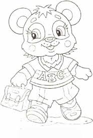 Funny Baby Panda Coloring Pages