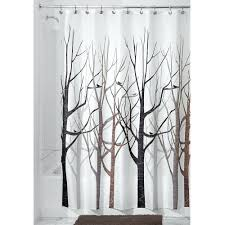 shower curtain black spots bathroom inspirations black and white