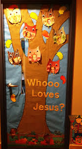 Christmas Classroom Door Decoration Pictures by Fall Is A Hoot Owl On The Door Elementary Door Decoration