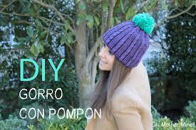 DIY Gorro de lana con pomp³n