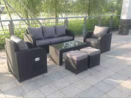 Ebay Patio Furniture Uk by Lotus Rattan Garden Furniture Set Sofa Dining Table Chairs