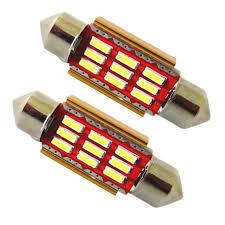 festoon led 31mm car interior light bulb de3175 9 4014 smd dome