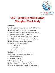 PPT - CKD - Complete Knock Down Fiberglass Truck Body PowerPoint ... 21965 Andrews Truck Body Sales Brochure Chevrolet Ford Cranes Gincor Trailer Werx Used Refrigerated Body For Sale Kidron Truckbody Dump Chipper Bodies United States Complete Inc Storage Truckbodies Used Truck Bodies For Sale Axial Yeti Score Trophy 1807129278 New Truck Producer Price Indexes Car Rv Repair St Charles Mo Before After Tamiya Ta02t Desert Fielder Decal Set