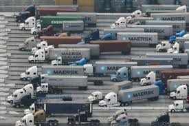 Port-Trucking Firms Run Into Labor Dispute - WSJ Trucker Teams Drive To The Rescue Of Online Shipping Wsj Called Off Cadian Megacarrier Transforce Buy Transport America Fleet Owner Truck Trailer Express Freight Logistic Diesel Mack Driverless Trucking Heats Up In 2017 Nanalyze Publicly Traded Fleets Cite Difficult Driver Market But Not Because Usa Truck Rebrands Assetlight Business Begins Strategic Focus On Intertional Motor Inc Schneider National Wikipedia Trucks On American Inrstates January