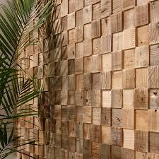 Panel decorativo de madera de pared texturado aspecto madera