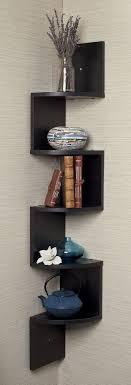 interior beautiful living room corner shelf ideas corner zig zag
