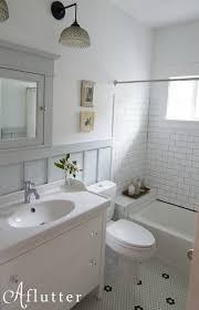 how made small bungalow bath look bigger hooked on houses