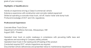 Resumes For Truck Drivers Resume Driver Curriculum Vitae Sample