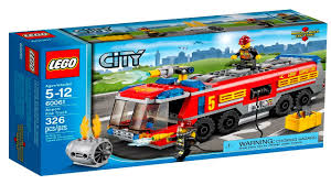 100 Lego Fire Truck Instructions Airport Fire Truck 60061 Instructions
