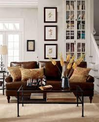 Pottery Barn Living Room Ideas Pinterest by Leather Living Room Decorating Ideas 1000 Ideas About Leather