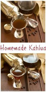 Pumpkin Spice Kahlua Drinks by Homemade Kahlua Sundaysupper Gifts From The Kitchen