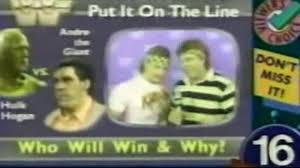 Wcw Halloween Havoc 1991 by Wwf Wrestlemania 3 Pre Show Dailymotion
