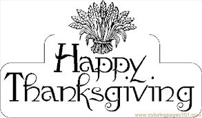 Printable Coloring Sheets Thanksgiving Free Pages Pdf
