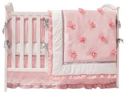 the peanut shell arianna 4 piece crib bedding set contemporary