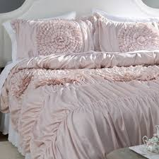 Lark Manor Lazerte 3 Piece Pink Blush forter Set & Reviews